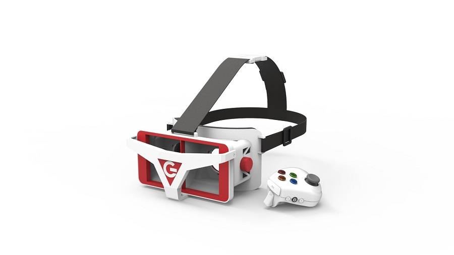 The Most fashion vr 3d glasses plastic with immersive technology for vr experience