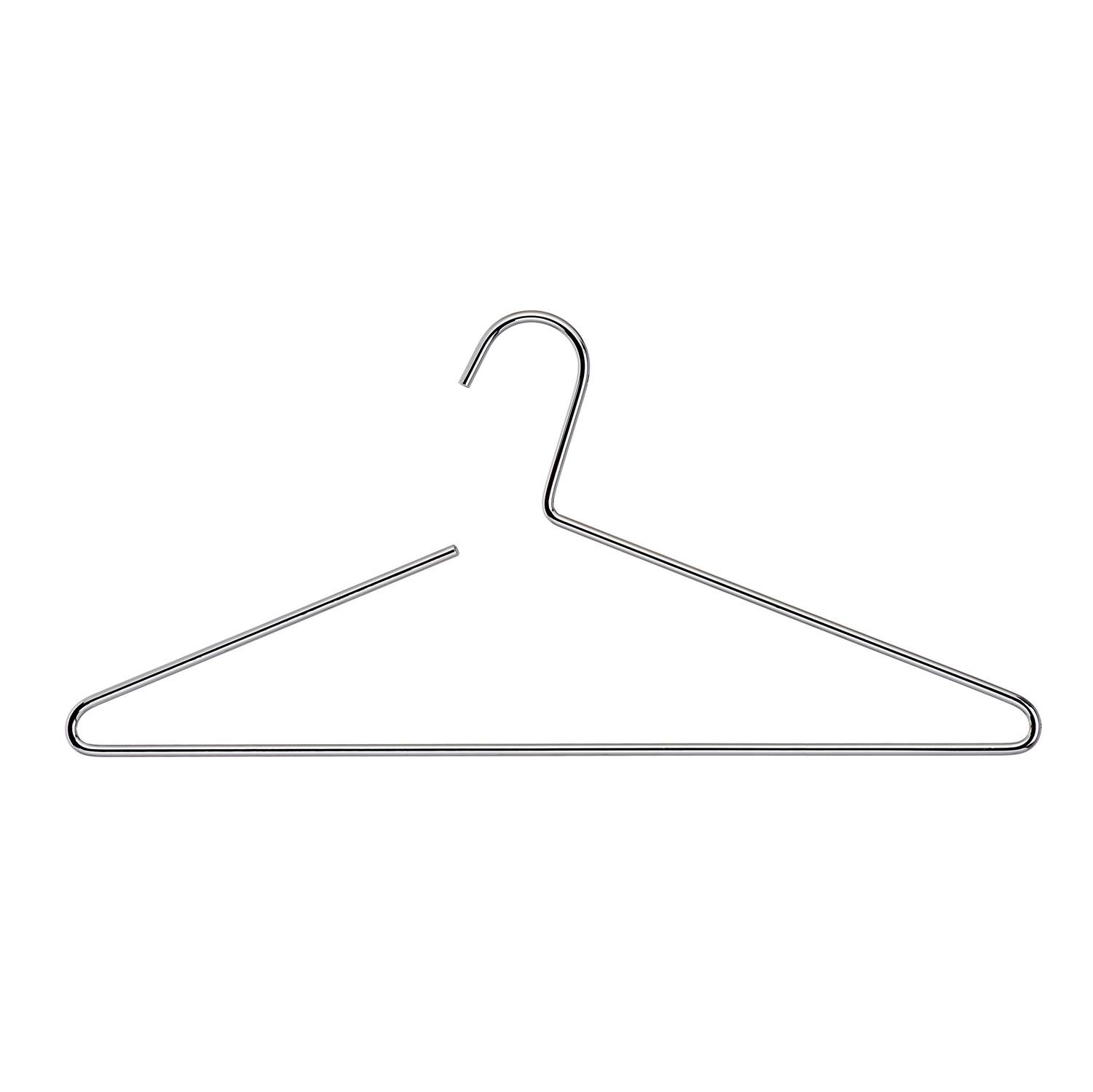 5.0mm chrome color wire hangers of Metal material