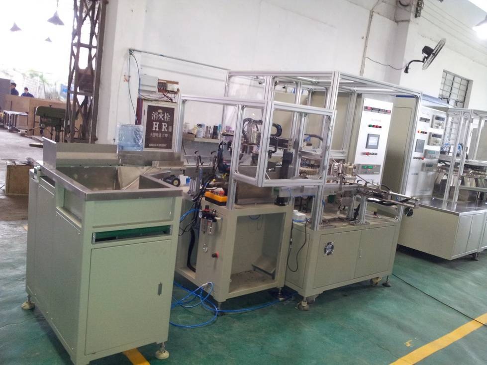 Single Core Clearing Machine for AC capacitors