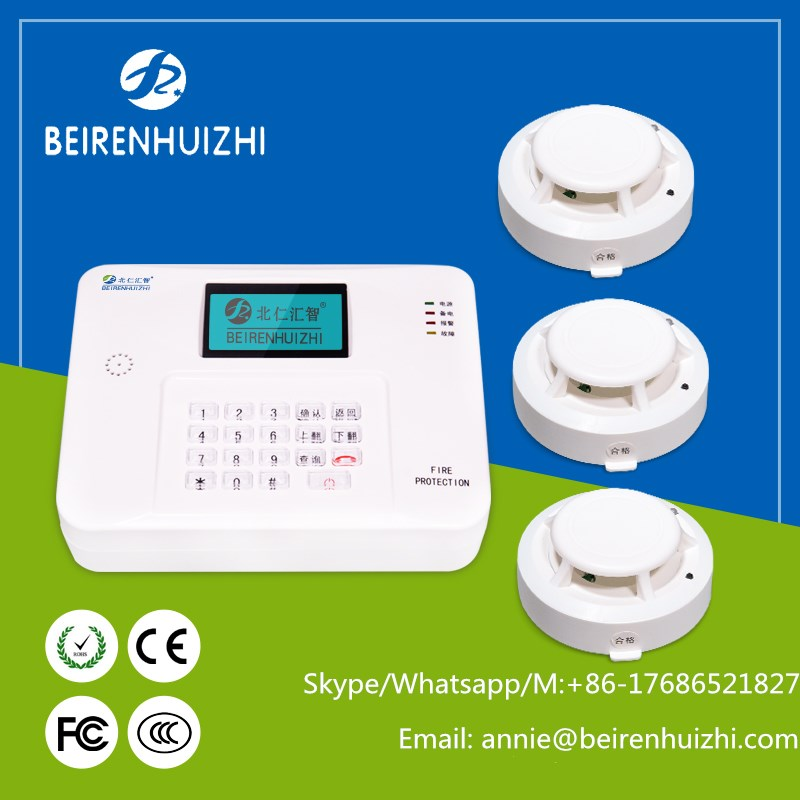 Wireless fire alarm system wireless fire alarm control panel