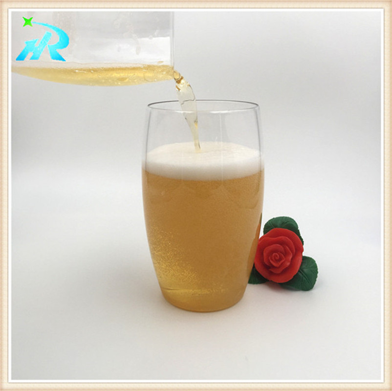 Personalized Promotional Cheap Disposable Plastic Beer Mugs Hard Plastic Crystal Beer Glasses