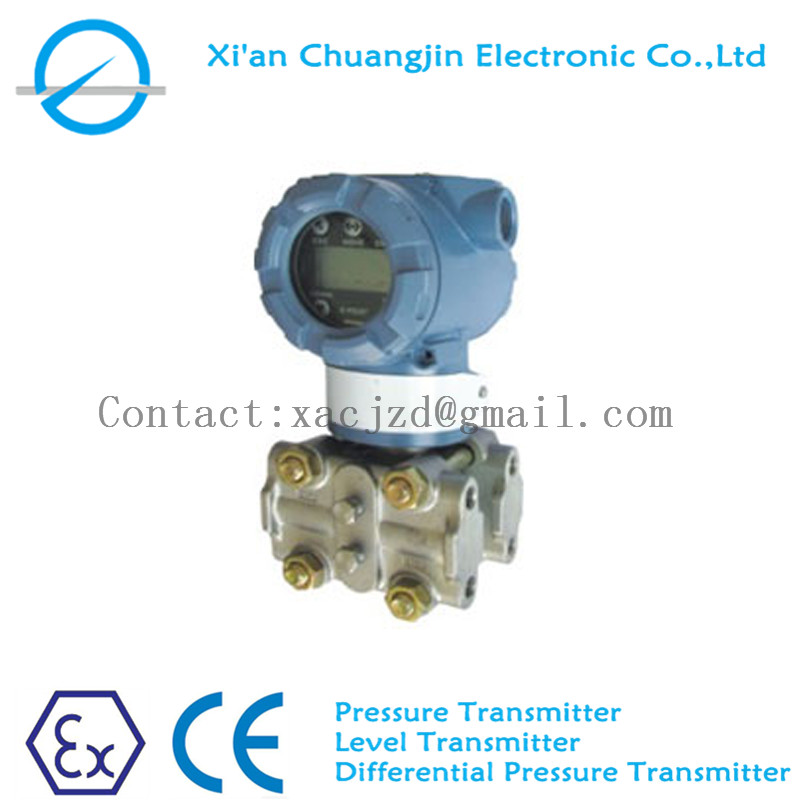 Capacitance differential pressure transmitter