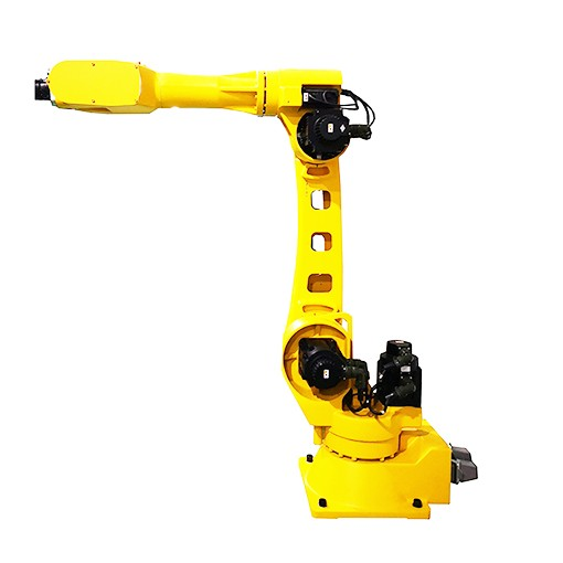Industrial robot arm used for machine tool tending and material loading