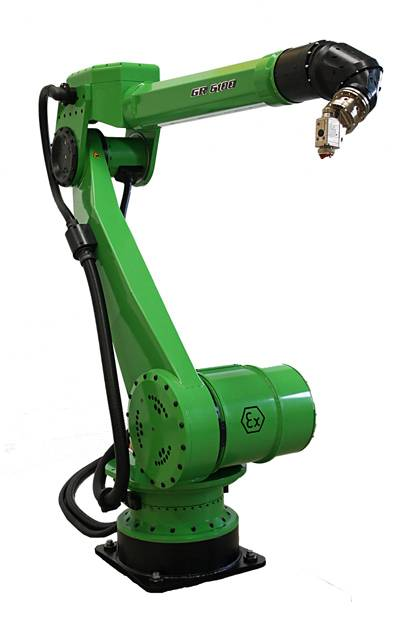 D Oriental DOT-SA12C1 Automatic Robot painting equipement CMA GR-6100HW with 3 spray gun