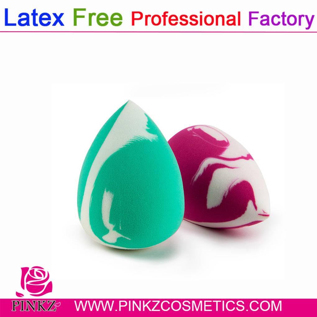 Hydrophilic Polyurethane Latex Free Makeup Sponge Free Sample
