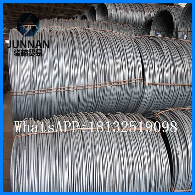 low carbon Tangshan 14mm wire rod coil