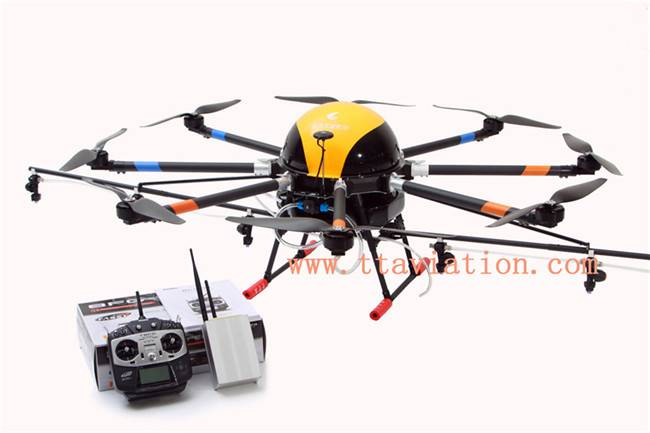 manufacturer 15L capacity 6 rotor agriculture drone uav for crop spraying