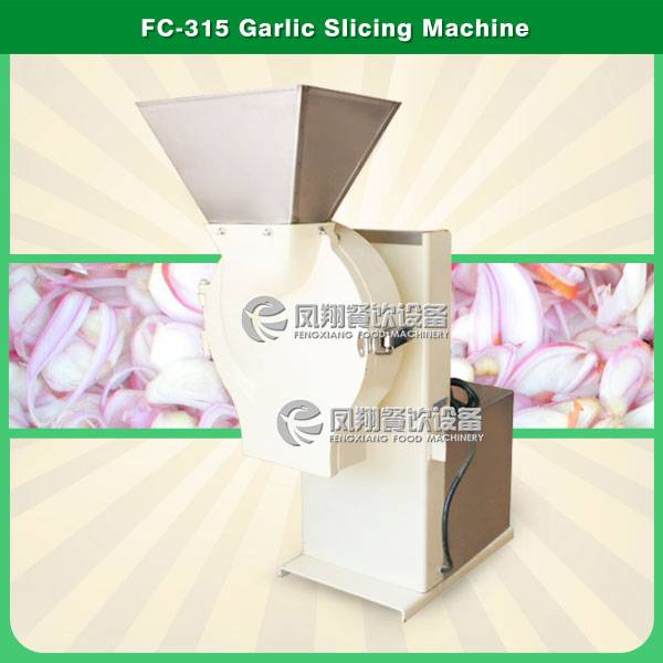 FC-315 garlic slicing machine