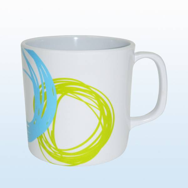 melamine cup with handle
