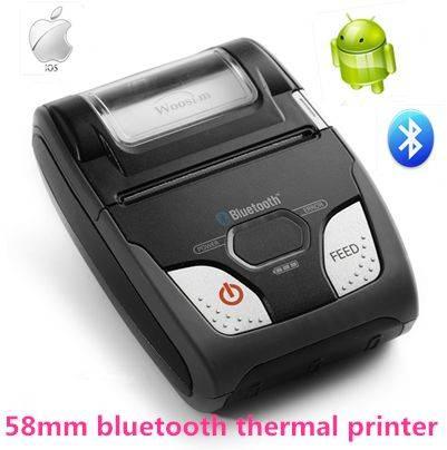 2 inch mini portable bluetooth thermal mobile printer Woosim WSP-R240