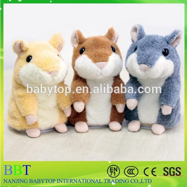 China Wholesale cute talking hamster hamster toy pet toy hamster