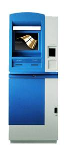 A7 cash payment self service touchscreen kiosk terminal with cash acceptor dot matrix invoice printe
