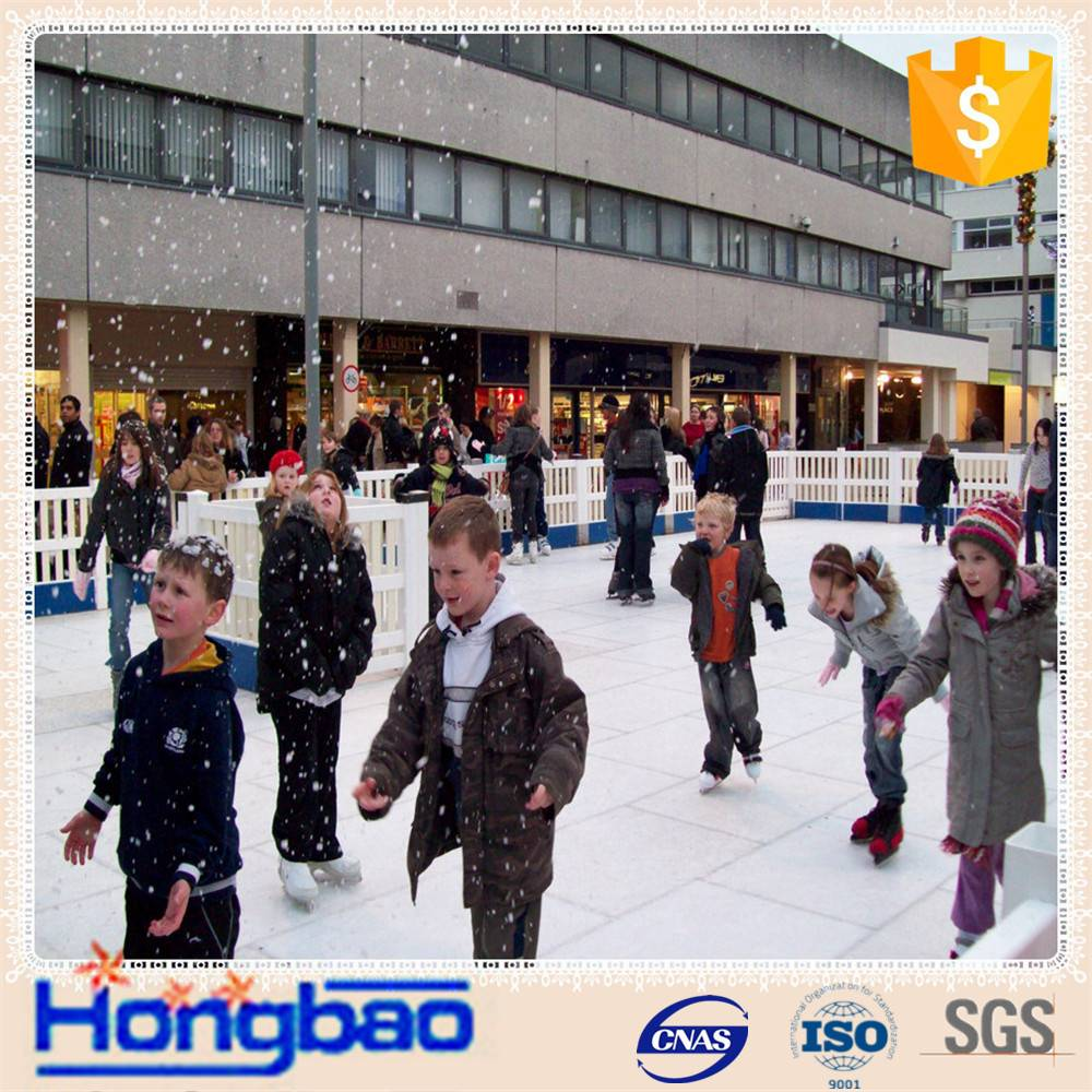 uhmwpe synthetic ice rink/synthetic ice rink of low frictional/uhmw-pe artificial ice rink