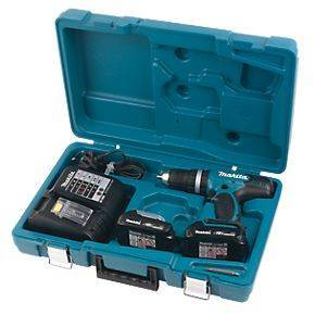 Makita BHP453SHE 18V 1.3Ah Li-Ion Cordless Combi Drill Power Tool