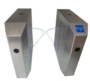 Optical acrylic flap gate