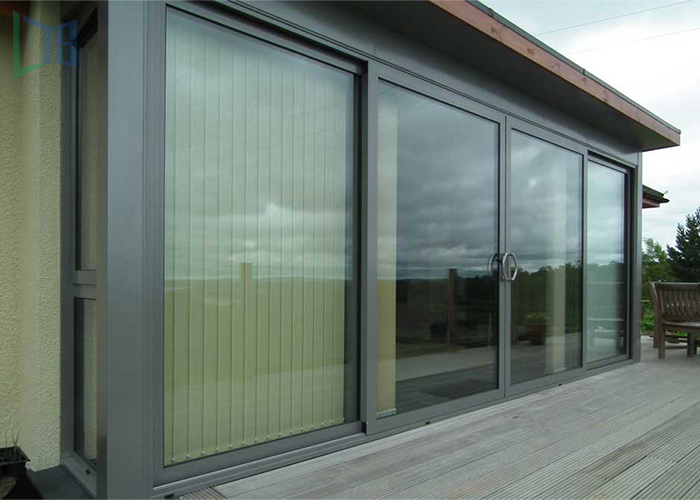 cheap sliding design aluminium glass windows in china