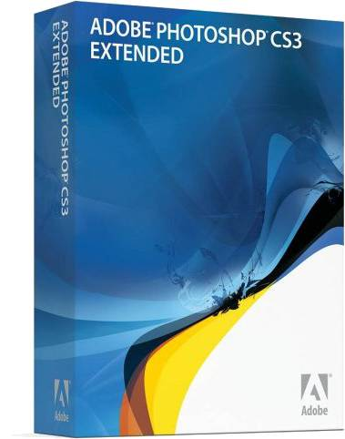 Adobe photoshop cs3 extended retail box