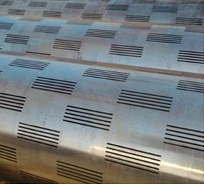 slotted pipe stainless steel filter
