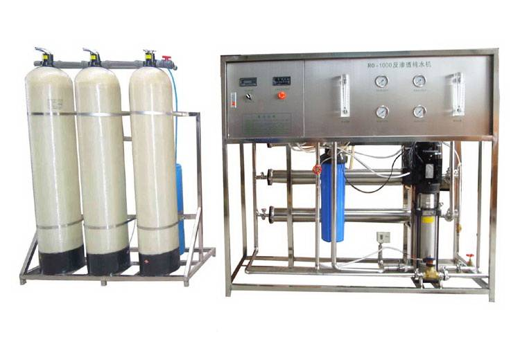 RO water treatment equipment for drinking water(1000L/H)