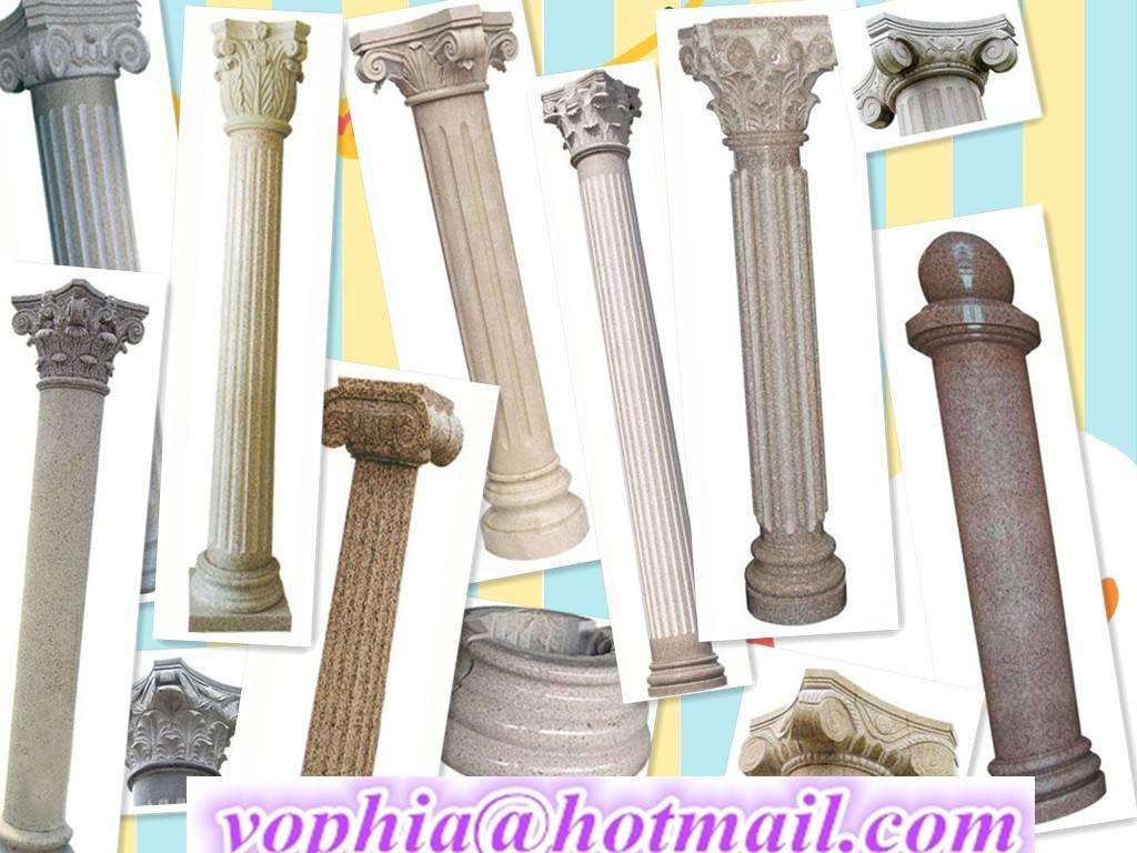 Various Classic Roman column pillar from Chinese stone Manufacturer
