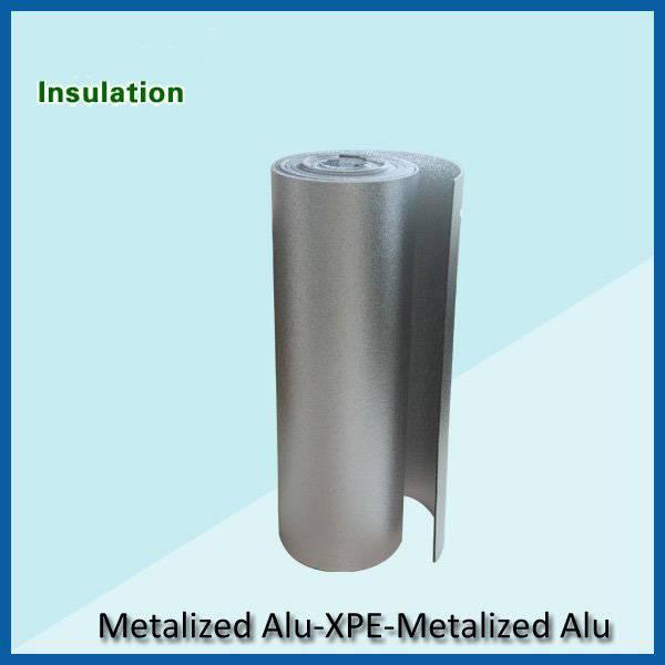 Metallic xpe heat insulation