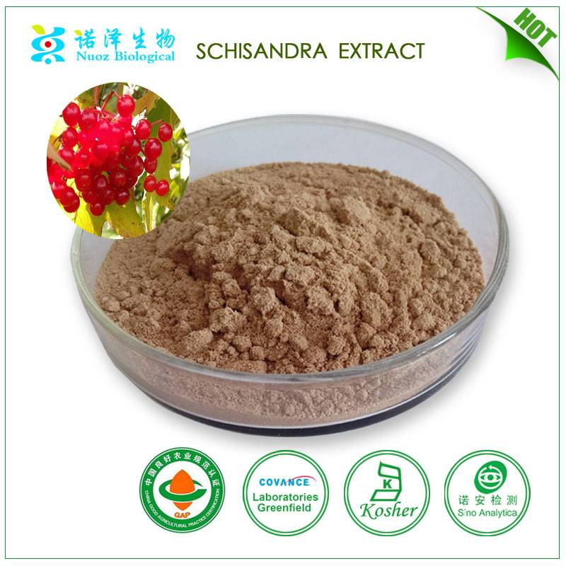 Factory Supply promoting physical endurance schisandrins extract powder