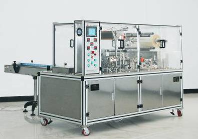 2005W Type Adjustable Cellophane Tri-dimensional Overwrapping Machine