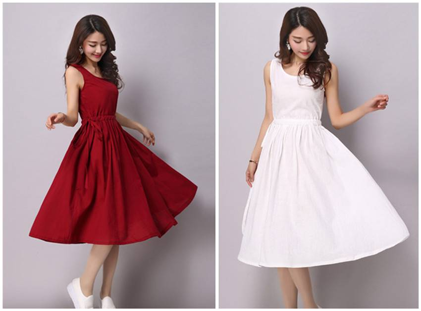 High quality and good price summer long dress for woman