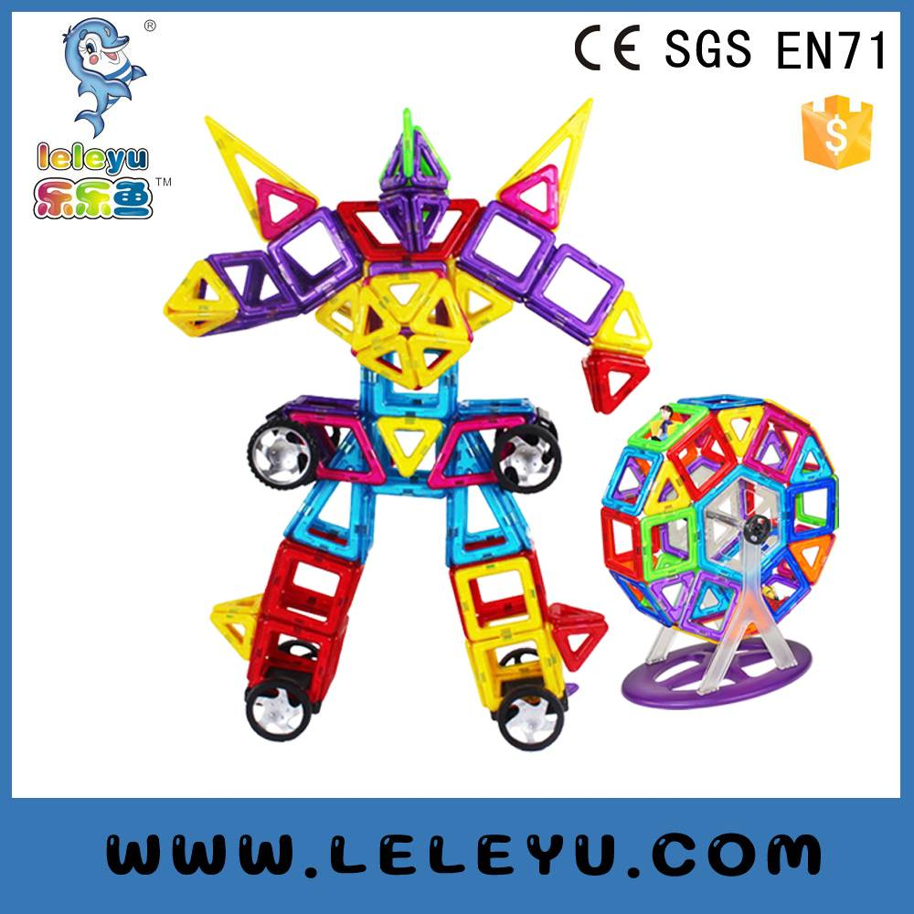 Hot Selling Magwisdom Magnetic tiles toy Magformers blocks