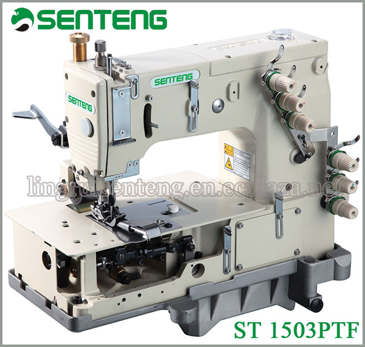 ST 1503PTF multi needle industrial machine sewing price
