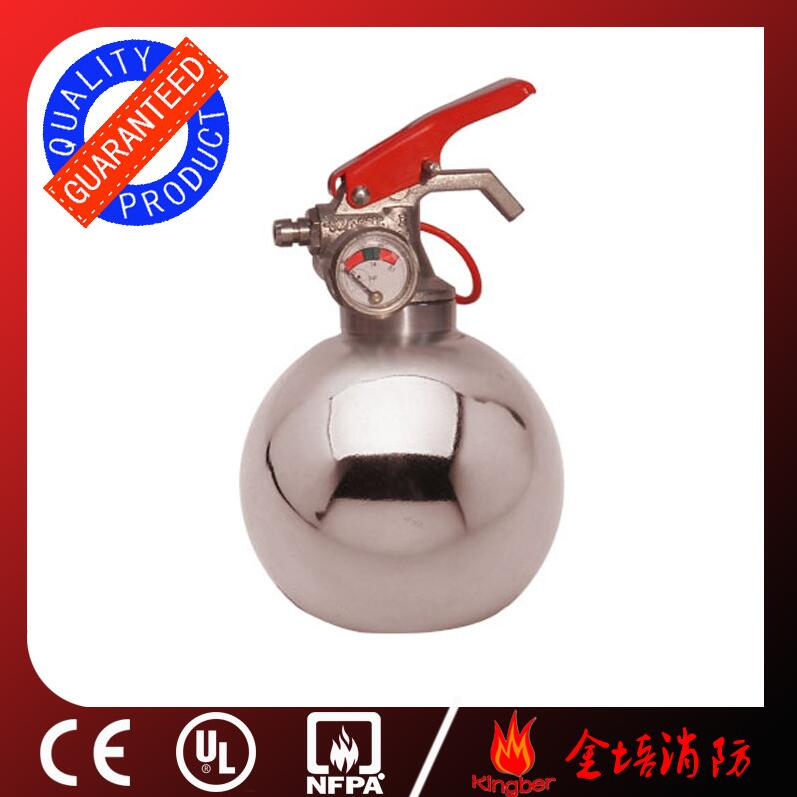 0.3KG Portable Stainless Steel Dry Powder Fire Extinguisher for Kitchen Using with ISO Approval