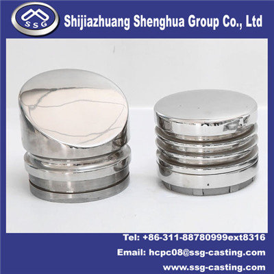 Investment Casting Other Parts Garbage Can Part