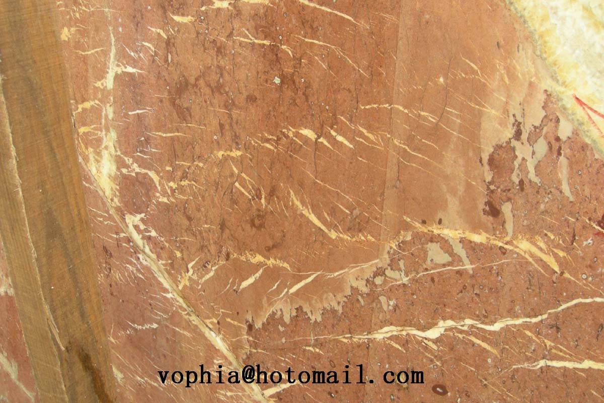 Fantasy Red, Chinese Rojo Alicante marble