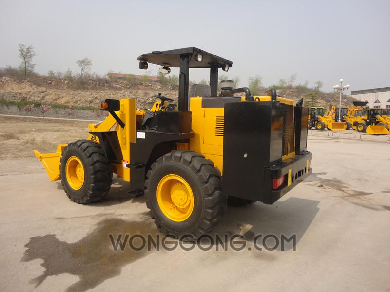 customized underground wheel loader for coal for mining