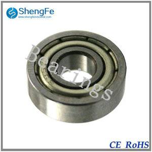 5x13x4mm 695ZZ deep groove ball bearings for machine