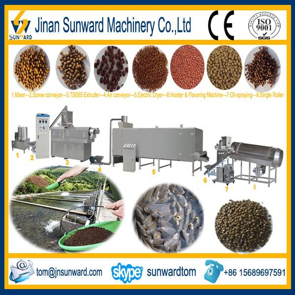 Factory Price Floating Fish Feed Pellets Lines