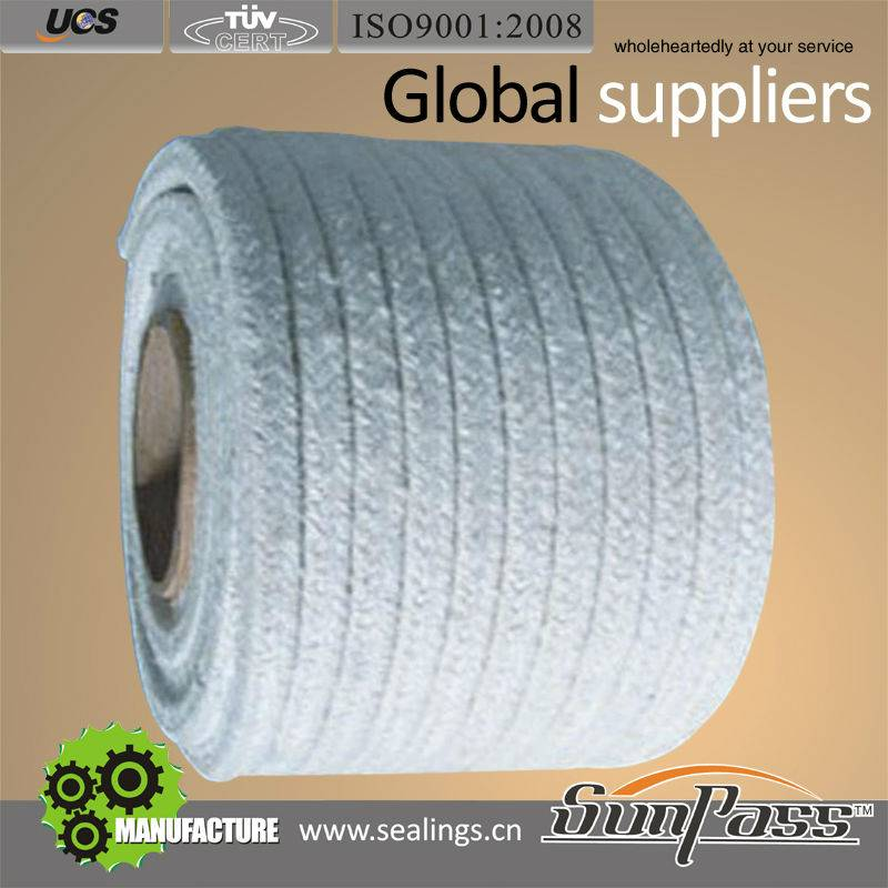 China Industrial Refractory Ceramic Fiber Twisted rope