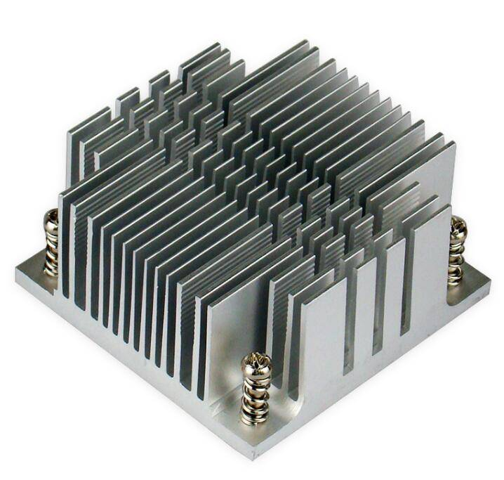PM478/479 50*50mm Electronic Component chips extruded heat sink