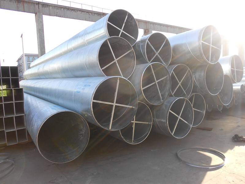 ASTM A53 / API 5L Spiral Welded Steel Pipes