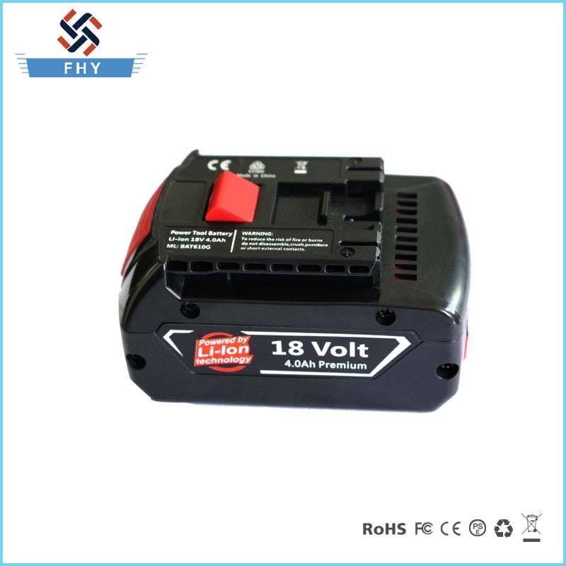 18V 3000mAh Li-ion Bateria Nova PARA Maquina Bosh