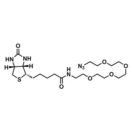 (+)-Biotin-PEG4-azide;(+)-Biotin-PEG4-N3;CAS#875770-34-6