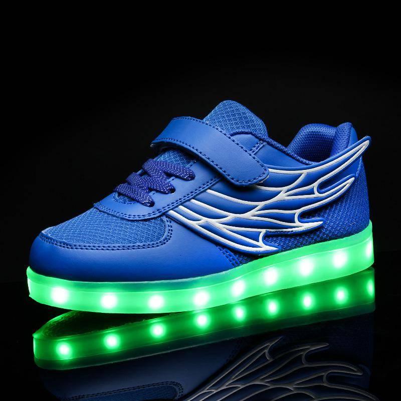 2016 New LED Light Sport Shoes for Children