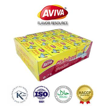 Halal Beef/Chicken/Shrimp Bouillon Cubes in instant soup [AVIVA CUBES]