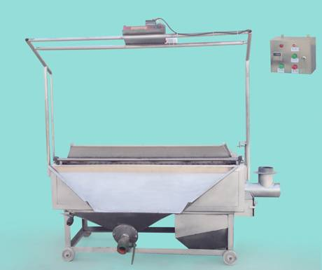 automatic discharging fat fryer,cauldron