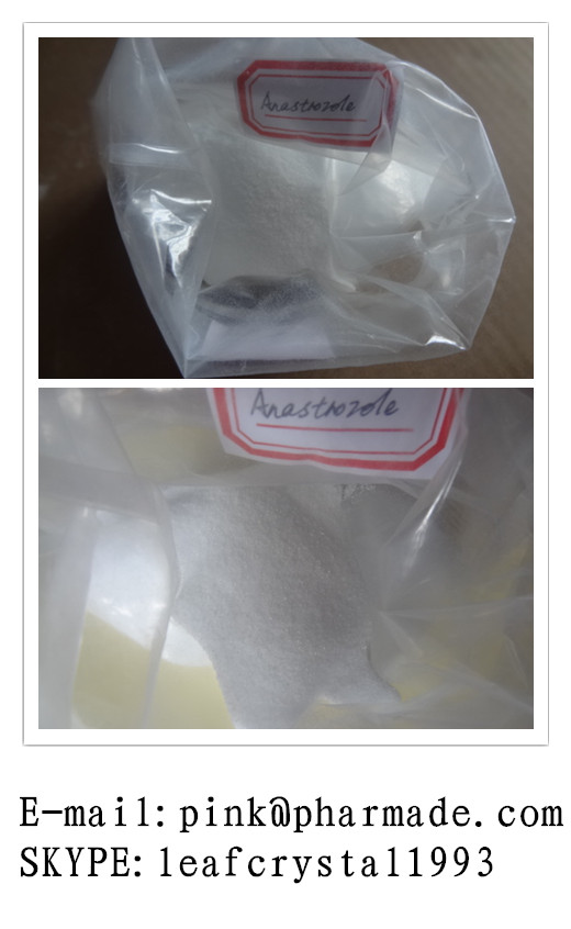 White Powder Aromatase Inhibitor Anastrozole