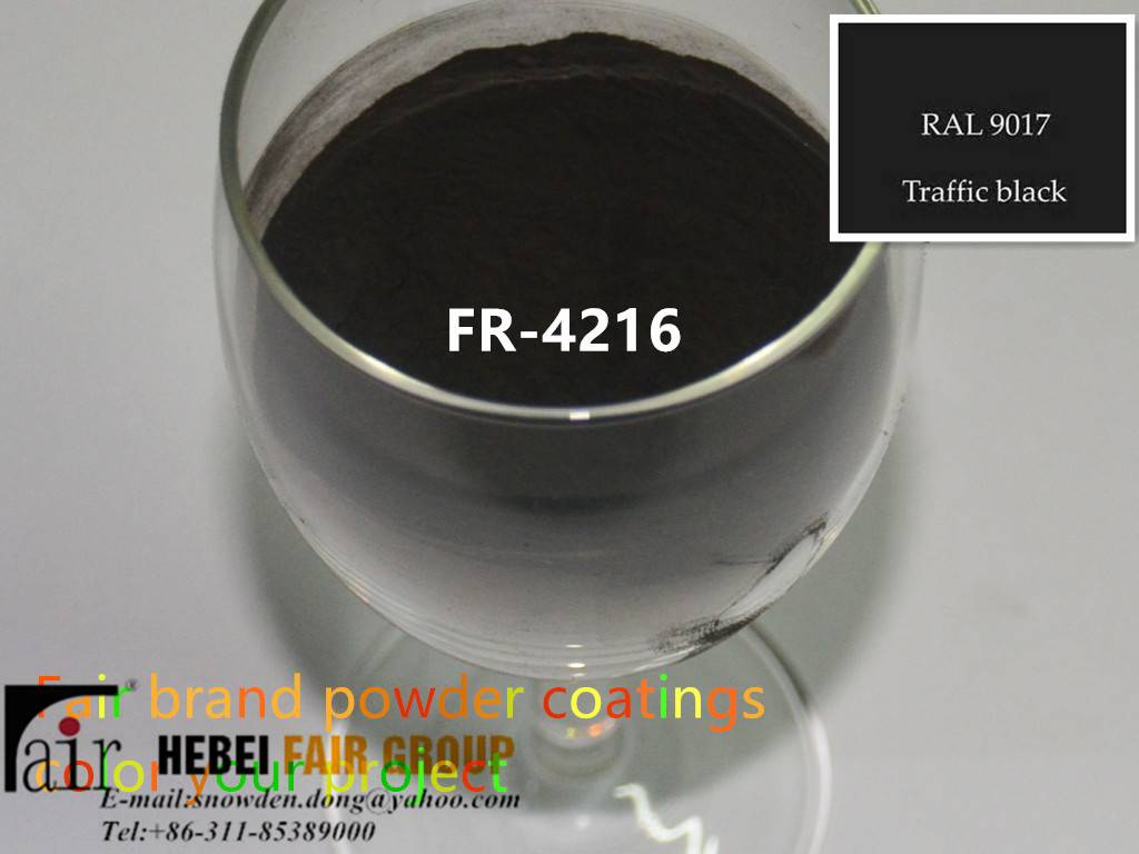 Traffice Black Powder Coatings Use For Machinery