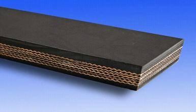 Fabric conveyor belts