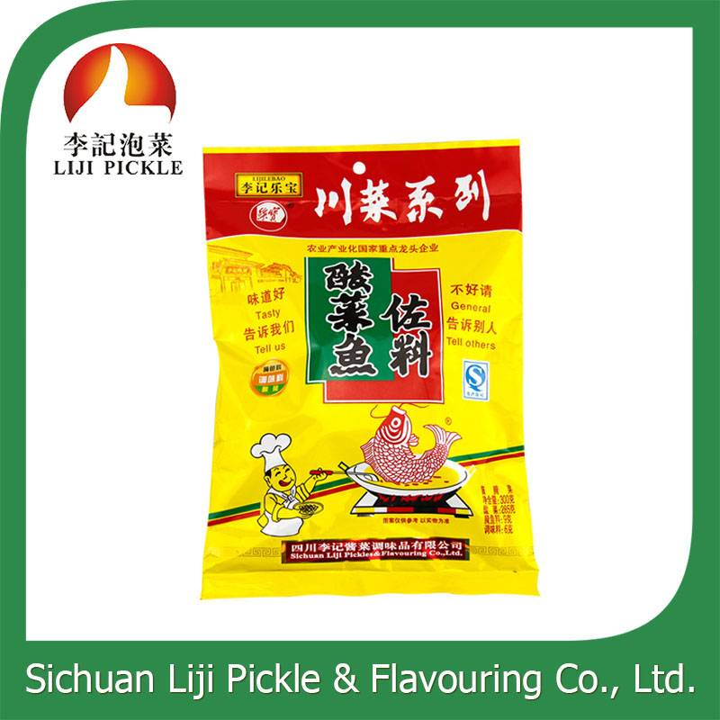 Fast to cook spicy pickled fish sauce machine 280g