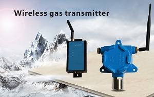 Wireless gas transducer