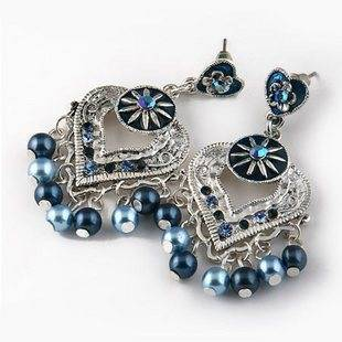 OnlySweetie-Fashion Jewelry-Earring-Alloy-diamonds